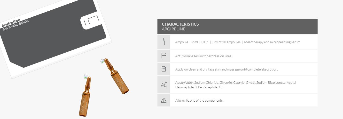 Argireline characteristics