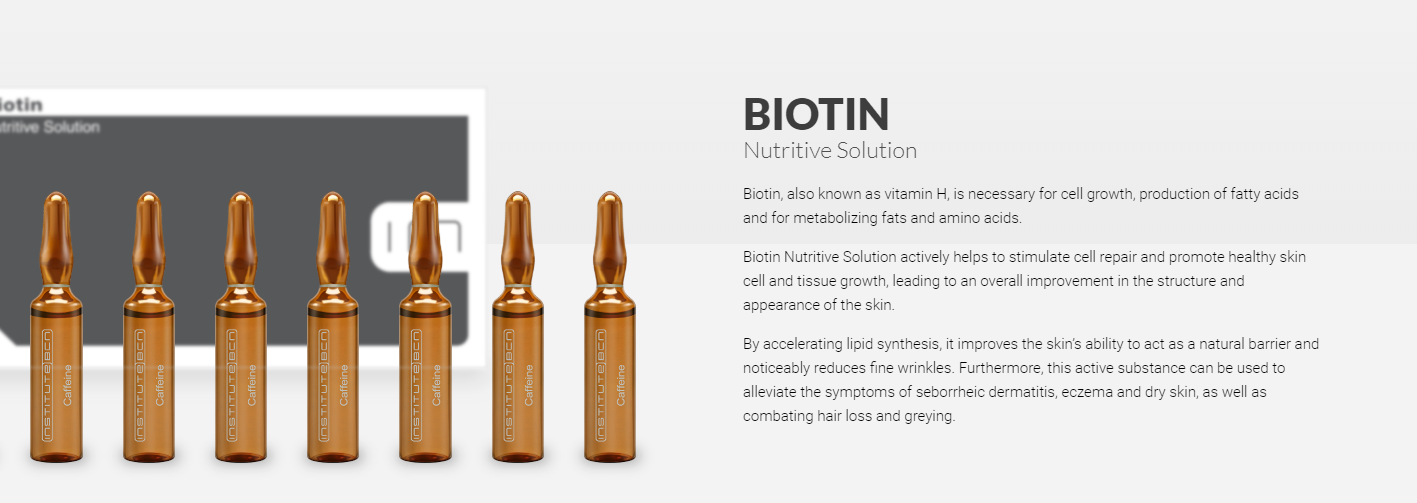 Biotin banner