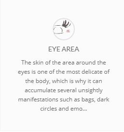 Eye area banner
