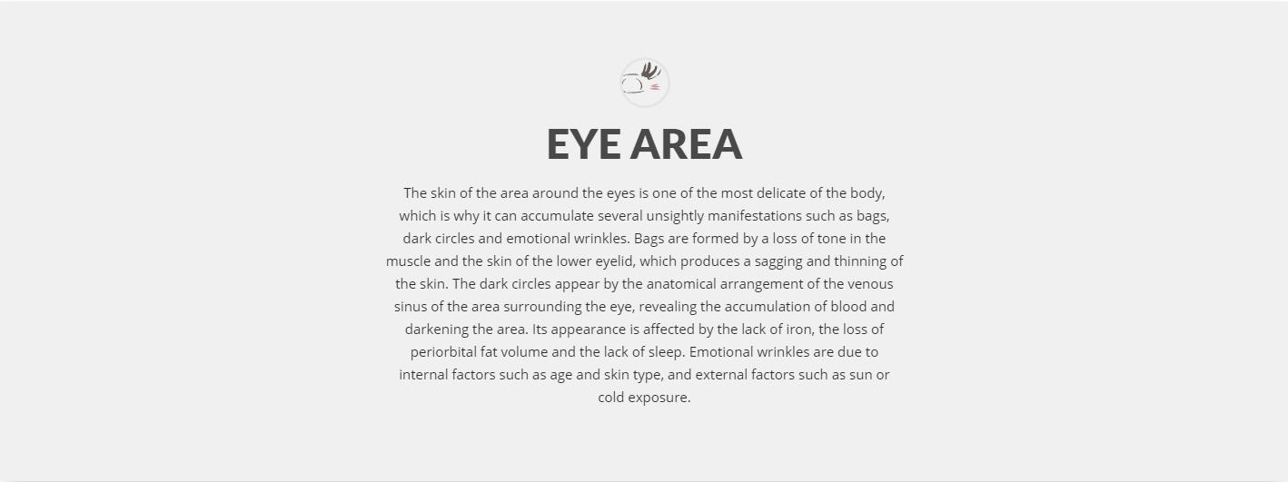 Eye area treatment