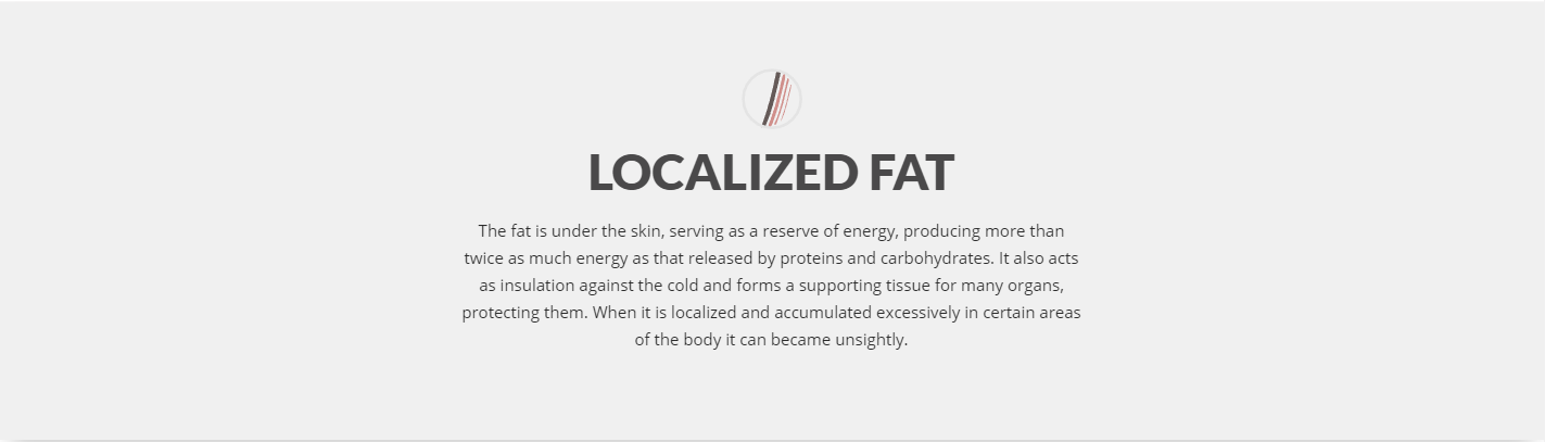 Localized fat treatment