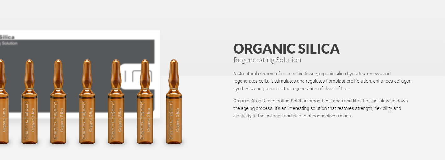 Organic silica banner