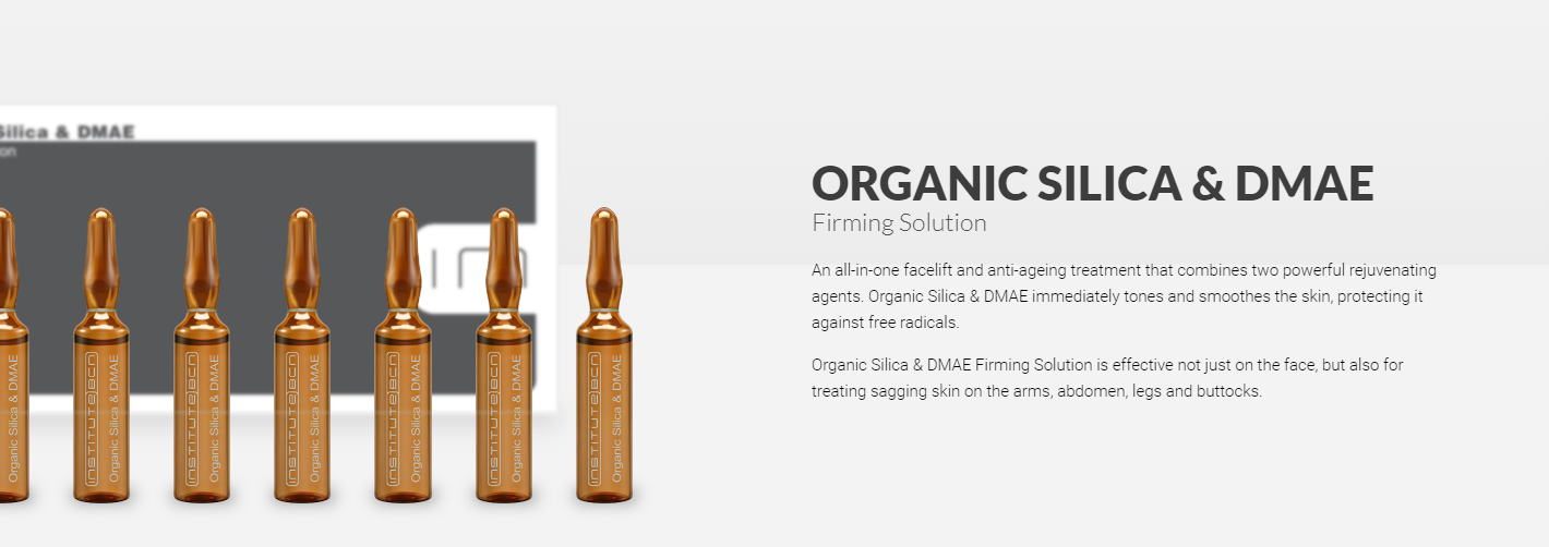 Organic silica & dmae banner