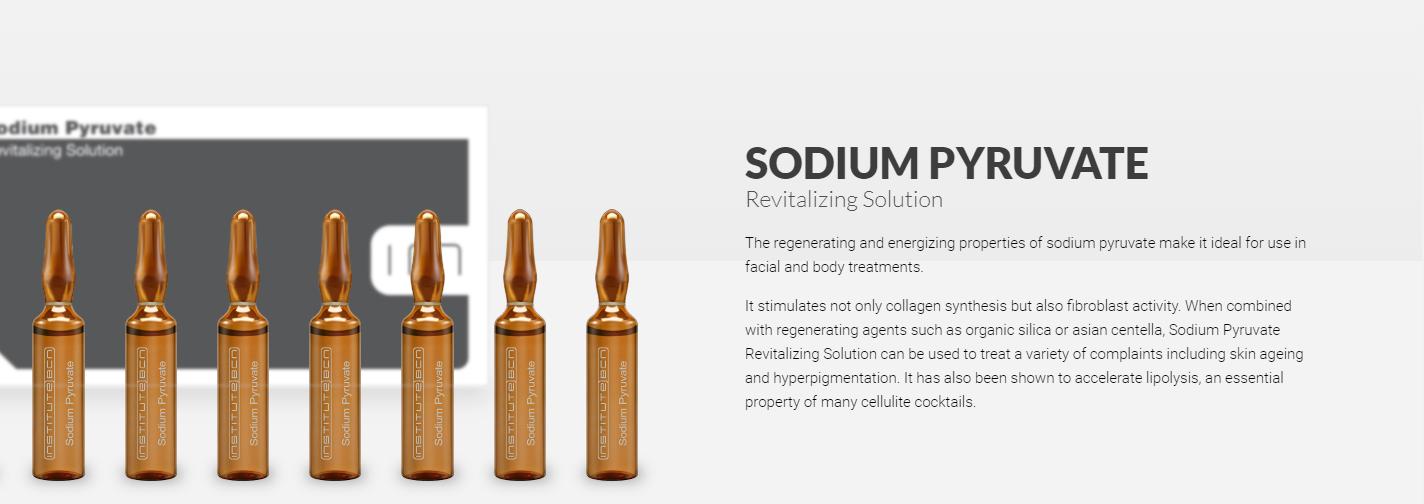 Sodium pyruvate banner