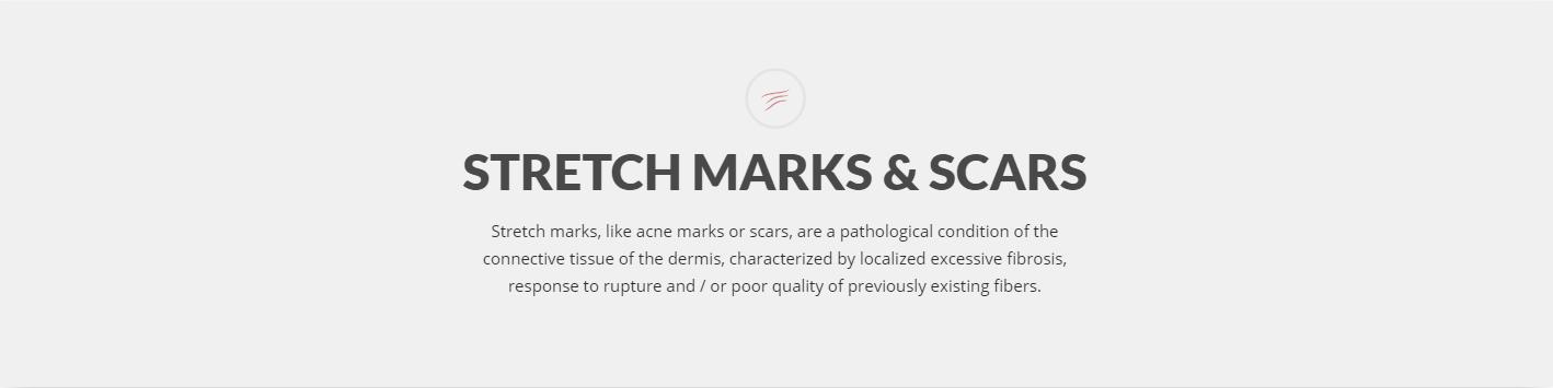 Stretch marks & scars treatment